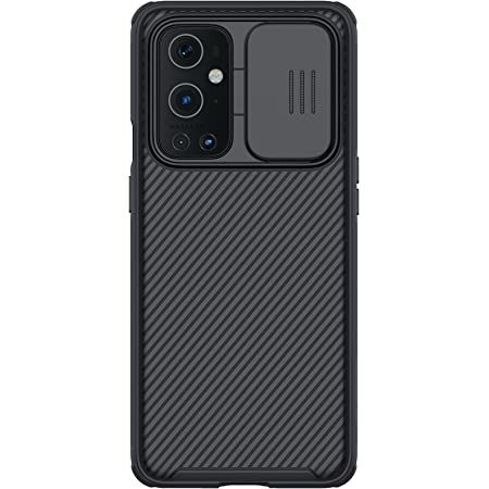 """Nillkin Case for OnePlus 9 Pro One Plus 9 Pro (1+9) Pro (6.7"""" Inch) CamShield Pro Slider Camera Close & Open Double Layered Protection TPU + PC Black Color"""