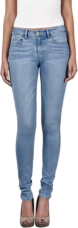 Hidden Women's Amelia Light Wash Skinny Jeans