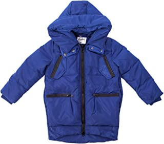 Boys Down Coat, Toddler Kids Lightweight Lite Skiing Parka Puffer Jacket With Hood Packets Outwear Clothes