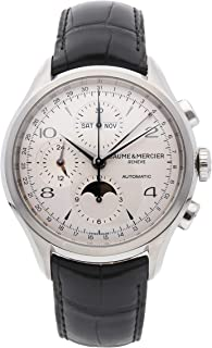 Baume & Mercier Clifton Mechanical (Automatic) Silver Dial Mens Watch M0A10278 (Certified Pre-Owned)