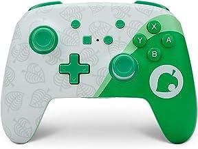 PowerA Enhanced Wireless Controller for Nintendo Switch - Animal Crossing: Nook Inc., Nintendo Switch Lite, Gamepad, Game ...