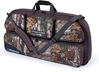 Legend Archery Crusader Compound Bow Case Backpack - Bow Secured with Fastening Straps - Mesh Pockets - Inside Length 35
