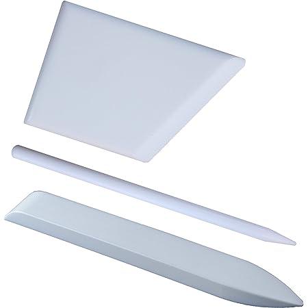 Origami Bookbinding Premium Quality for Scoring White Creasing Folding 100/% Teflon Crafty Gnome Teflon Bone Folder and Scoring Tool Extra Smooth