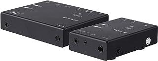 StarTech.com HDMI Over IP Extender Kit - Advanced Compression - Transmitter & Receiver (ST12MHDLNHK)