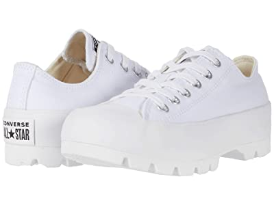 Converse Chuck Taylor All Star Lugged Ox (White/White/White) Women
