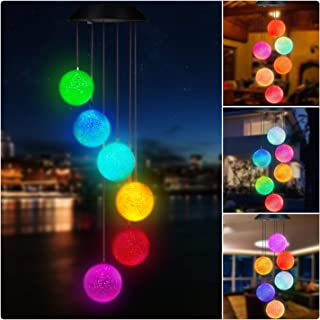 Best solar powered wind chime light Reviews