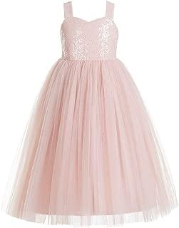 A-Line T-Back Sweetheart Neckline Flower Girl Dress Beauty Pageant Dress 179