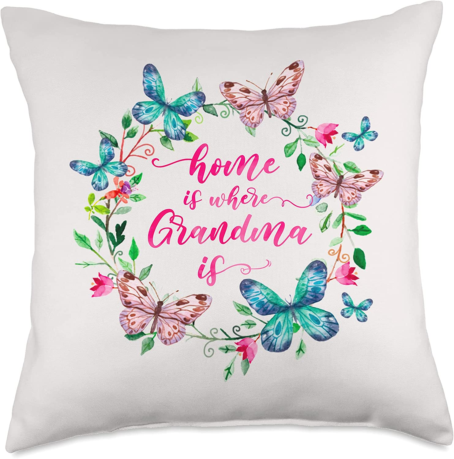Home Is Where Grandma G famous Day Butterfly 2021 Mother's