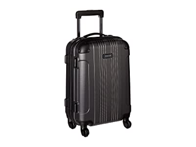 Kenneth Cole Reaction 20 Out of Bounds Lightweight Hardside 4-Wheel Spinner Carry-On Travel Luggage (Charcoal) Luggage