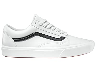 Vans Comfycush Old Skool ((Classic Tumble) True White) Athletic Shoes