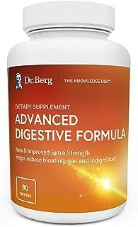 Dr. Berg's Advanced Digestive Formula Extra Strength - Contains Both Apple Cider Vinegar Powder + Betaine Hydrochloride - ...