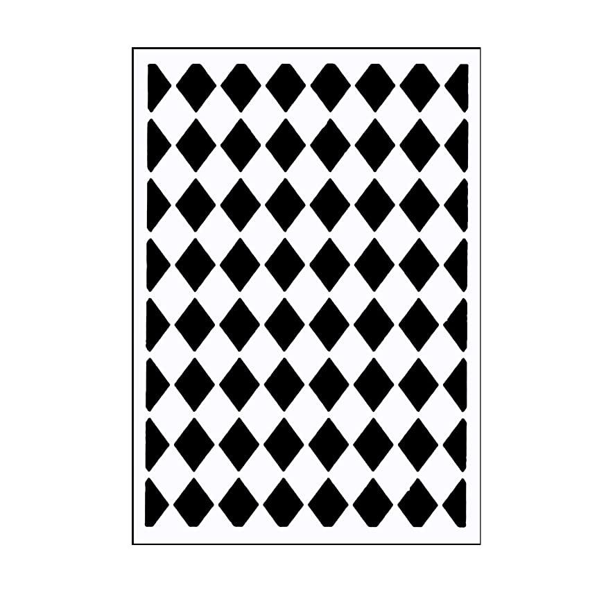 Vaessen Creative Mini Embossing Folder, Classy Diamonds, for Adding Texture and Dimension to Scrapbook Pages, Cards and Other Papercraft Projects, 3 x 5 inches
