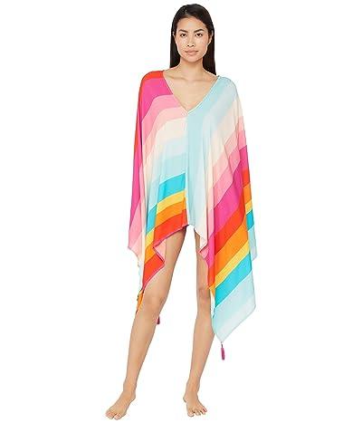 Trina Turk 25th Anniversary Sunrise Stripe Caftan Swimsuit Cover-Up (Multi) Women