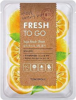 Tonymoly Fresh To Go Yuja Mask Sheet, 25g