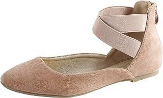 أحذية مسطحة للنساء مرنة كلاسيكية مسطحة مسطحة