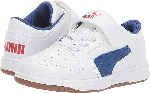 Puma White/Galaxy Blue/High Risk Red