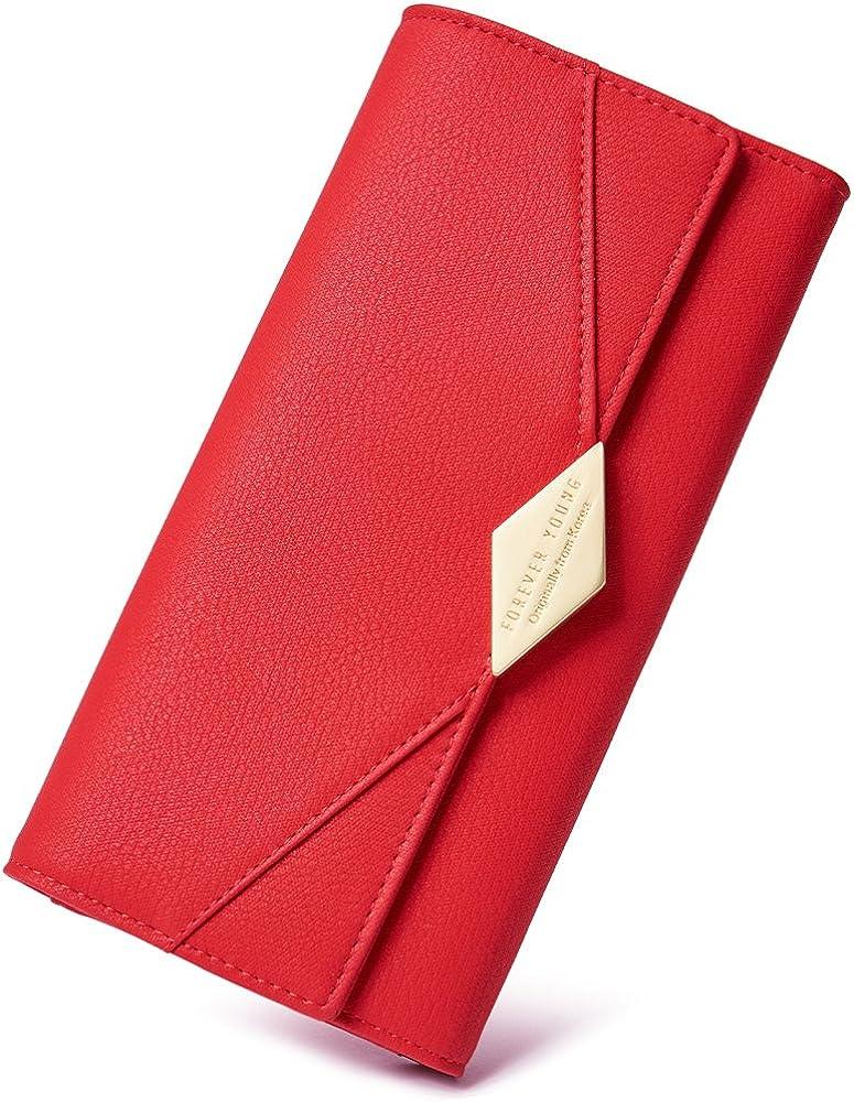 Cluci, portafogli per donna, porta carte di credito, in morbida pelle sintetica 2008307031