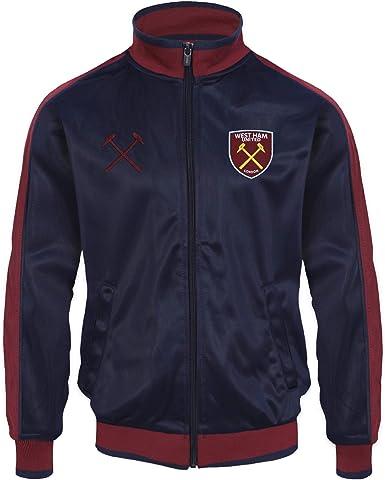 Polo Th/ème Football Homme avec Blason West Ham United FC Officiel
