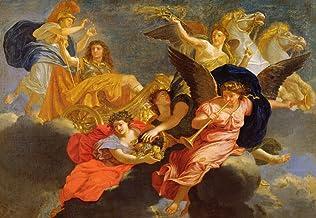 Kunst für Alle Impresión artística/Póster: Charles Lebrun Apotheosis of King Louis XIV of France - Impresión, Foto, póster artístico, 85x60 cm