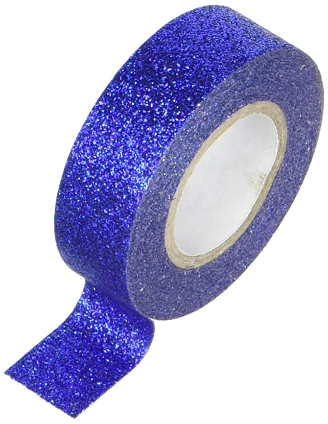 Best Creation GTS004 Glitter Tape, 15mm by 5m, Blue