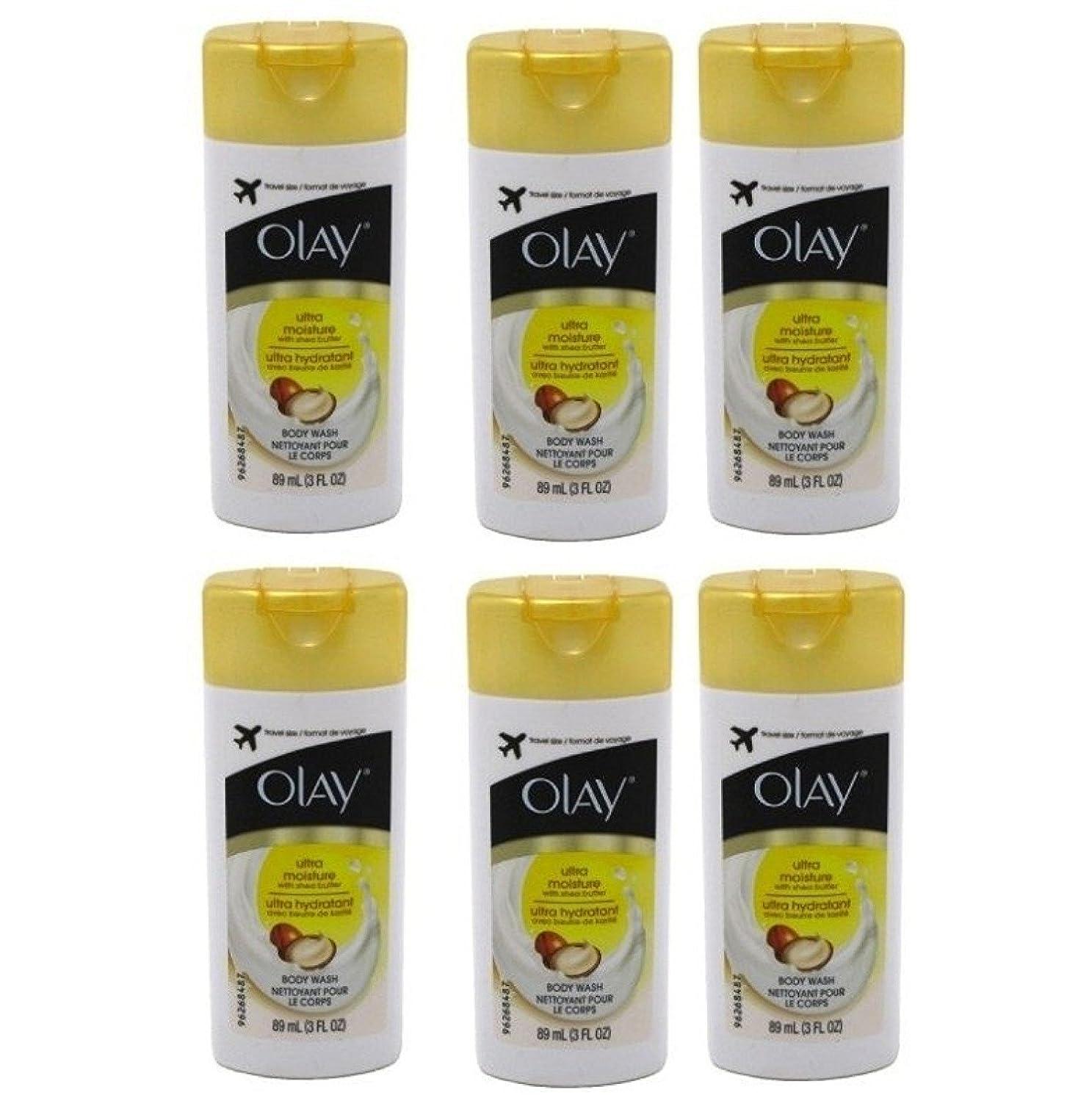モザイク思慮のない近々Olay Ultra Moisture Body Wash 3oz Travel Size by Olay