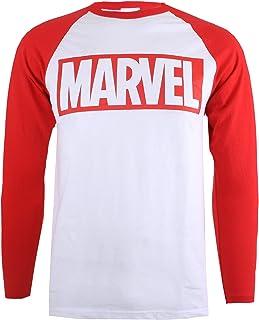 Marvel Men's Logo-L/S T-Shirt