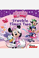 Minnie's Bow-Toons: Trouble Times Two: Includes 18 Stickers! (Disney Storybook (eBook)) Kindle Edition
