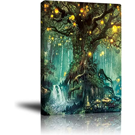 forest fairy art poster picture wall decor