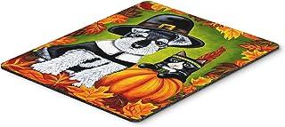 Caroline's Treasures Thanksgiving Friends Schnauzer Mouse Pad, Hot Pad or Trivet, Multicolor (AMB1364MP)
