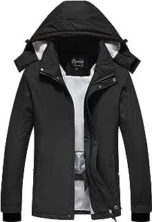 Women's Waterproof Ski Jacket Mountain Rain Coat Windproof Skin Hooded Jacket