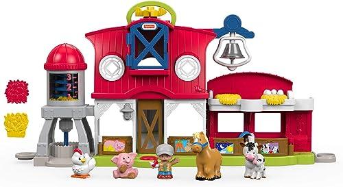gran selección y entrega rápida Little People Granja Cuida a a a los Aniñalitos, Juguetes Bebés 1 año (Mattel FKD00)  ofrecemos varias marcas famosas