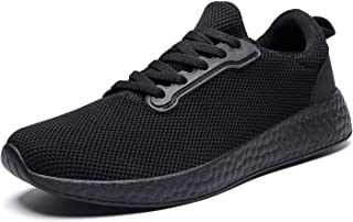 Men Lightweight Breathable Knit Mesh Running Shoes Walking Sneaker
