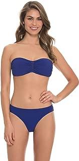 Women's Waterfall Bandeau Bikini Top Blueberry 12