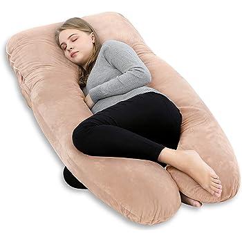 Meiz 抱き枕 授乳クッション 出産祝い 妊婦枕 U型 抱かれ枕 マタニティ ギフト 背もたれ クッション 人をダメにする 腰枕 カバー洗える