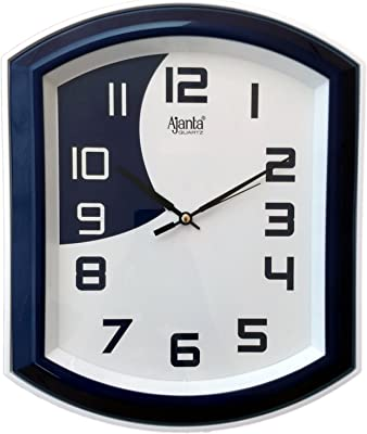 Ajanta 12 Inches Wall Clock (Step Movement)