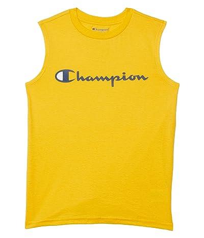 Champion Kids Classic Script Muscle Shirt (Big Kids)