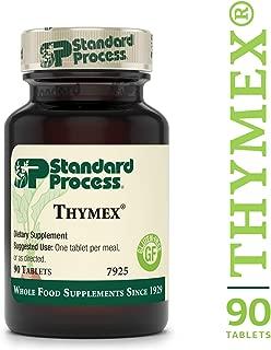 Standard Process - Thymex - Thymus Gland Support Supplement, Supports Immune System Health, Provides Antioxidant Vitamin C, Gluten Free - 90 Tablets