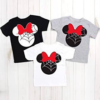 Kids Disney Halloween shirts, Minnie Halloween, Disney trip, Minnie version, Family trip, matching shirts