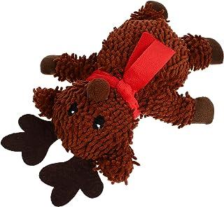 POPETPOP Jul Tugga Leksaker Jul Plush Hund Leksak Jul Tänder Leksaker Xmas Fyllda Leksaker Xmas Husdjur Interaktiva Leksak...