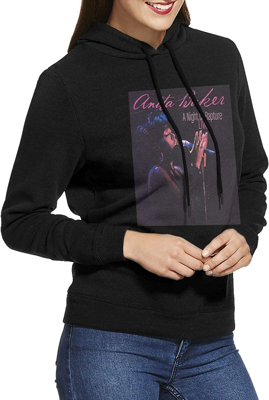 Anita Baker Hoodie Woman'S Casual Long 35% OFF Cotton Sale Special Price Sweatshirts Sleeve