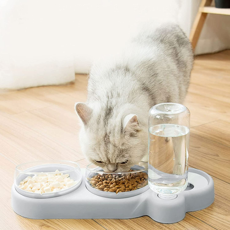 COMEONE Indefinitely Raised Cat Bowls Kansas City Mall Tilt Water Elevated Dog Food
