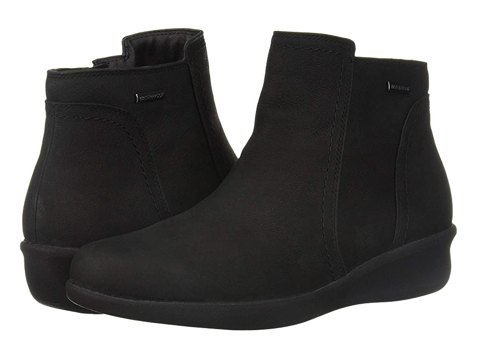 Aravon Fairlee Ankle Boot (Black) Women
