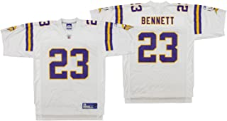 Minnesota Vikings Mens NFL Replica Football Jersey Michael Bennett #23 White