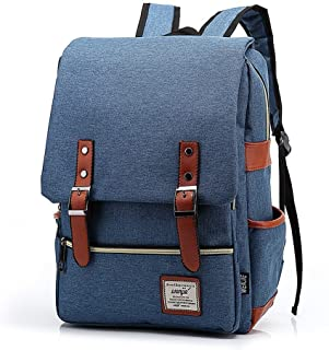 AchirStyle Slim Business Laptop Backpack Elegant Casual Daypacks Outdoor Sports Rucksack School Shoulder Bag for Men Women School Children