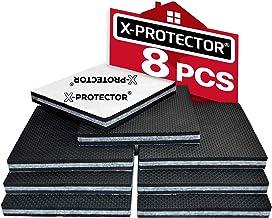 Meubelpads X-PROTECTOR - Antislippads - Premium 8 stuks 100 mm - Vloerbeschermers - Rubberen voetjes voor meubelpoten - Id...
