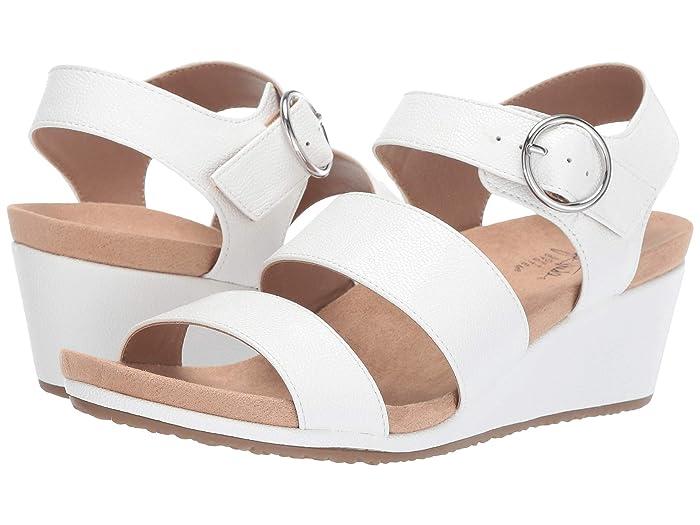 Vintage Sandals | Wedges, Espadrilles – 30s, 40s, 50s, 60s, 70s LifeStride Muse White Eternity Womens Shoes $42.99 AT vintagedancer.com