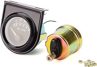 Iztor Universal 2 inch 52mm Car Oil Pressure Gauge 0-100 Psi LED Oil Press Meter Auto Gauge Instrument