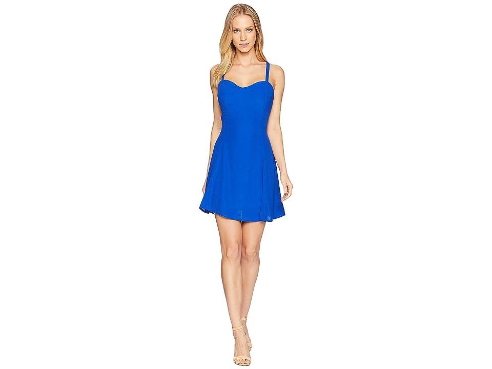 Lucy Love The Rachel Slip Dress (Royal Blue) Women