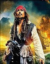 Piratas De La Pintura Por Números En Lienzo Imagen De Película De Pared Digital Diy Para Sala De Estar Decoración Para El Hogar