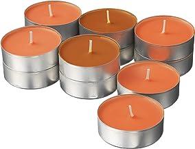 شمعة الشموع المعطرة Sinnlig من Ikea's ، برتقالي محمر ، (عبوة من 30 قطعة)